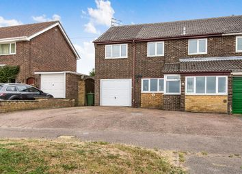 Thumbnail 5 bedroom end terrace house for sale in Post Office Road, Lingwood, Norwich