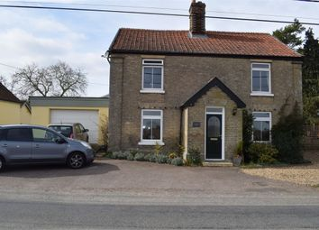 Thumbnail 3 bed detached house for sale in Broad Road, Bacton, Stowmarket, Suffolk