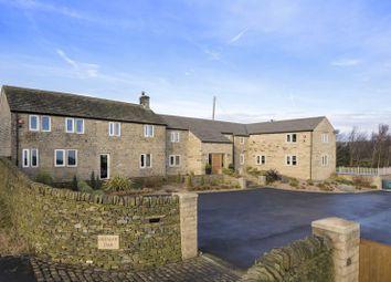 Thumbnail 6 bed farmhouse for sale in Greengate Farm, Horn Lane, Ingbirchworth