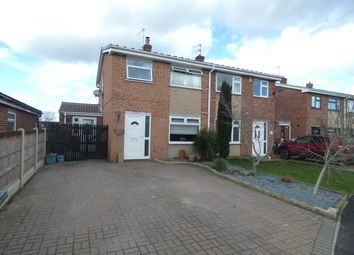 Thumbnail 3 bed semi-detached house for sale in Harvey Close, Finningley, Doncaster