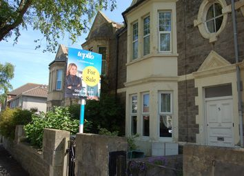 Thumbnail 2 bed flat for sale in Malvern Road, Weston-Super-Mare, North Somerset