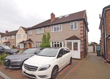 Thumbnail 4 bed semi-detached house for sale in Danetree Road, West Ewell