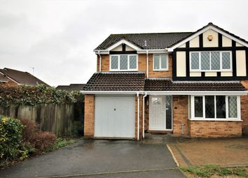 Thumbnail 4 bed detached house to rent in Sherwood Close, Basingstoke