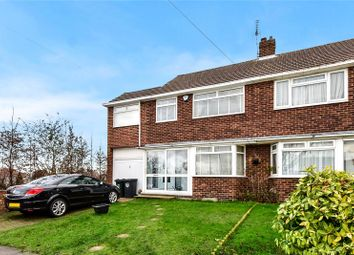 Thumbnail 4 bed semi-detached house for sale in Patterdale Road, Fleet Estate, Dartford, Kent