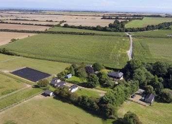 Thumbnail 4 bed equestrian property for sale in The Lane, Guston, Dover