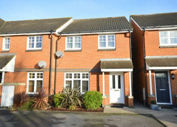 Thumbnail 3 bed end terrace house to rent in Charles Babbage Close, Chessington