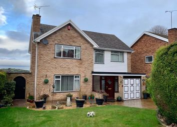 Thumbnail 4 bed detached house for sale in Loder Drive, Hereford