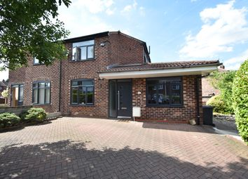 Thumbnail 3 bed semi-detached house for sale in Windsor Crescent, Prestwich, Manchester