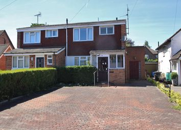 Thumbnail 3 bed semi-detached house for sale in Woodview Road, Pangbourne, Reading
