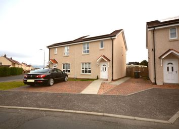 Thumbnail 3 bed semi-detached house to rent in Blythewood Terrace Quarrolhall Crescent, Carronshore, Falkirk
