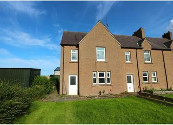 Thumbnail 3 bed end terrace house to rent in Coldingham, Eyemouth