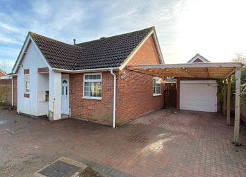 Thumbnail 2 bedroom detached bungalow for sale in Heron Road, Wisbech