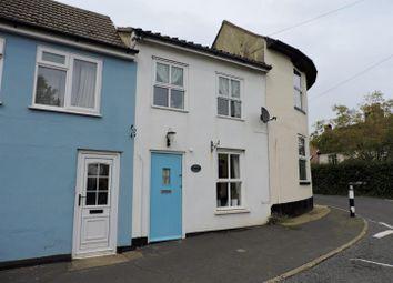 Thumbnail 2 bedroom terraced house for sale in The Knoll, Alderton, Woodbridge