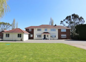 Thumbnail 5 bed detached house for sale in Winchester Road, Botley, Southampton