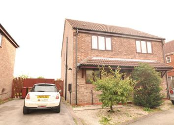 Thumbnail 3 bed semi-detached house to rent in Millers Quay, Scawby Brook, Brigg