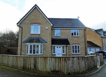 Thumbnail 4 bed detached house for sale in Mill House Court, Cwmbran
