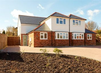 Thumbnail 3 bed semi-detached house for sale in Romford Road, Pembury, Tunbridge Wells, Kent