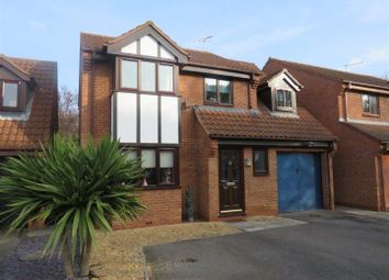 Thumbnail 4 bed detached house for sale in Barford Close, Orton Longueville, Peterborough