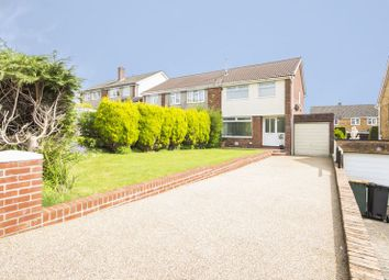 Thumbnail 3 bed semi-detached house for sale in Birchgrove Close, Newport