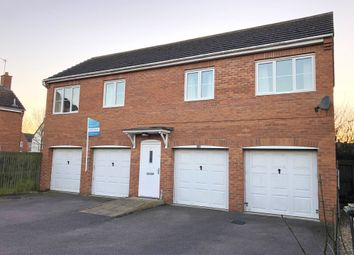 Thumbnail 2 bed flat for sale in Elder Close, Witham St Hughs