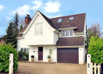 Thumbnail 6 bed detached house for sale in Littleworth Avenue, Esher