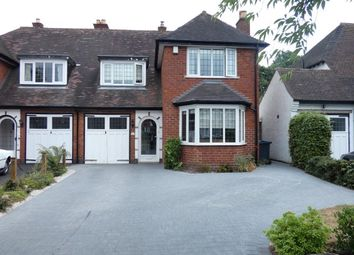 Thumbnail 4 bed semi-detached house for sale in Emmanuel Road, Wylde Green, Sutton Coldfield