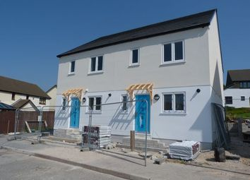 Thumbnail 3 bed semi-detached house for sale in Graham Road, Redruth