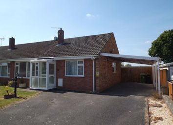Thumbnail 2 bed semi-detached bungalow to rent in The Hollies, Clehonger, Hereford