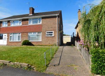 Thumbnail 3 bed semi-detached house for sale in Partridge Road, Dibden Purlieu
