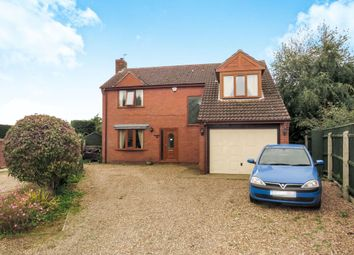 Thumbnail 4 bed detached house for sale in Church Lane, Kirkby-La-Thorpe, Sleaford