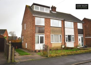 Thumbnail 3 bed semi-detached house for sale in Charles Avenue, Laceby