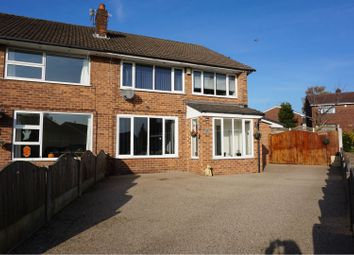 Thumbnail 5 bed semi-detached house for sale in Standmoor Road, Whitefield, Manchester