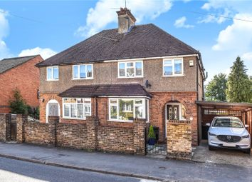 Thumbnail 3 bed semi-detached house for sale in Church Lane, Mill End, Rickmansworth, Hertfordshire