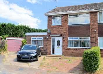 Thumbnail 4 bed semi-detached house for sale in Annes Close, South Wootton, King's Lynn