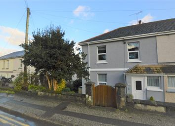 Thumbnail 4 bed semi-detached house for sale in Rose Hill, St. Blazey, Par, Cornwall