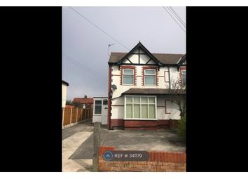 Thumbnail 1 bed flat to rent in York Avenue, Cleveleys