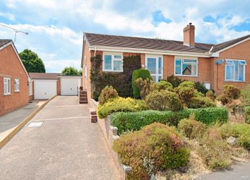 Thumbnail 3 bed semi-detached bungalow for sale in Roberts Close, Cullompton