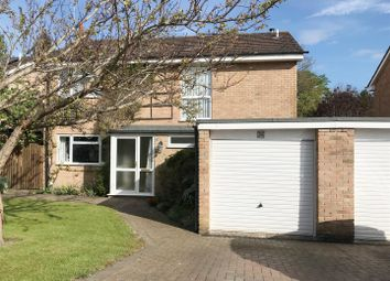 Thumbnail 4 bedroom detached house for sale in Greenacres, Woolton Hill, Newbury
