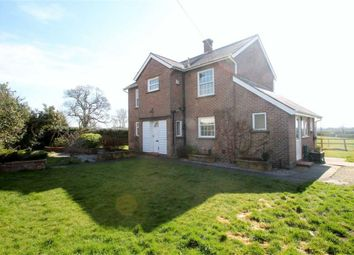 Thumbnail 3 bed detached house to rent in Woolston Road, West Felton, Oswestry