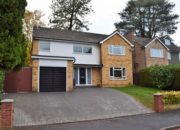 Thumbnail 4 bed detached house for sale in Highbury Crescent, Camberley