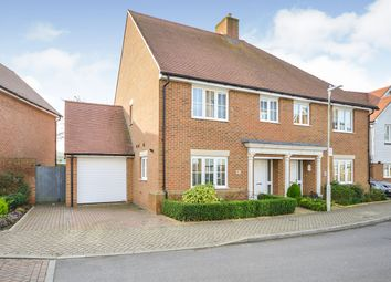 4 bed semi-detached house for sale in Leonard Gould Way, Loose, Maidstone, Kent ME15