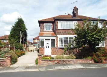 Thumbnail 3 bed semi-detached house for sale in Albury Drive, Manchester, Greater Manchester