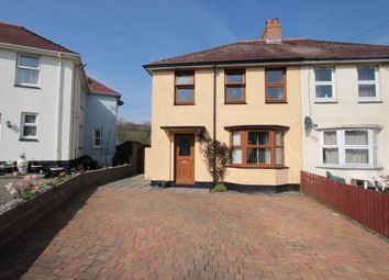 Thumbnail 3 bed semi-detached house for sale in Cylch-Y-Llan, New Quay