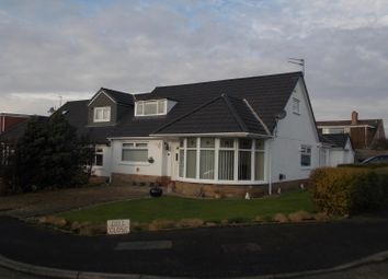 Thumbnail 3 bed semi-detached bungalow for sale in Dell Close, Marton-In-Cleveland, Middlesbrough