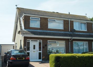 Thumbnail 3 bed semi-detached house for sale in Crewgarth Road, Westgate, Morecambe