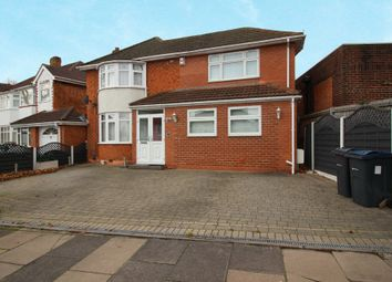 Thumbnail 3 bed detached house to rent in Whitecroft Road, Sheldon, Birmingham, West Midlands
