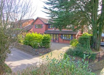 Thumbnail 5 bedroom detached house for sale in Bridge Road, Old St Mellons, Cardiff