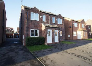Thumbnail 2 bed semi-detached house to rent in Hoselett Field Road, Long Eaton, Nottingham