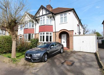 Thumbnail 4 bedroom semi-detached house for sale in Cassiobury Park Avenue, Watford