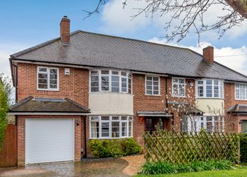 Thumbnail 5 bed semi-detached house for sale in Bedford Road, Letchworth Garden City, Hertfordshire